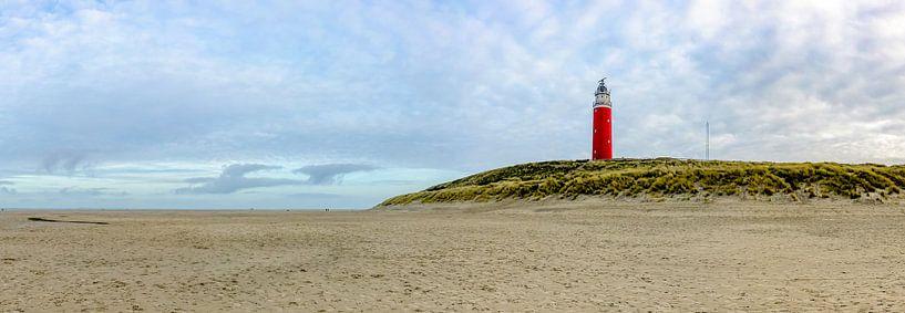 Vuurtoren Eiereland Texel van Texel360Fotografie Richard Heerschap