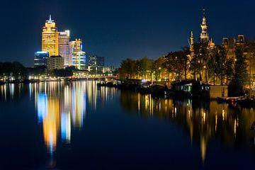 Reflektionen op de Amstel te Amsterdam von