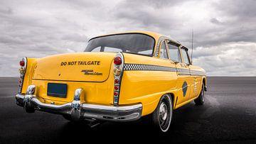 Amerikaanse Yellow Cab taxi uit New York van mike van schoonderwalt