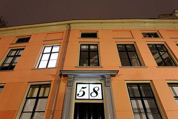 Kromme Nieuwegracht 58 in Utrecht sur Donker Utrecht
