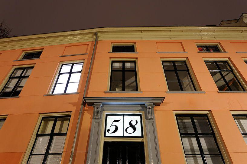Kromme Nieuwegracht 58 in Utrecht van Donker Utrecht