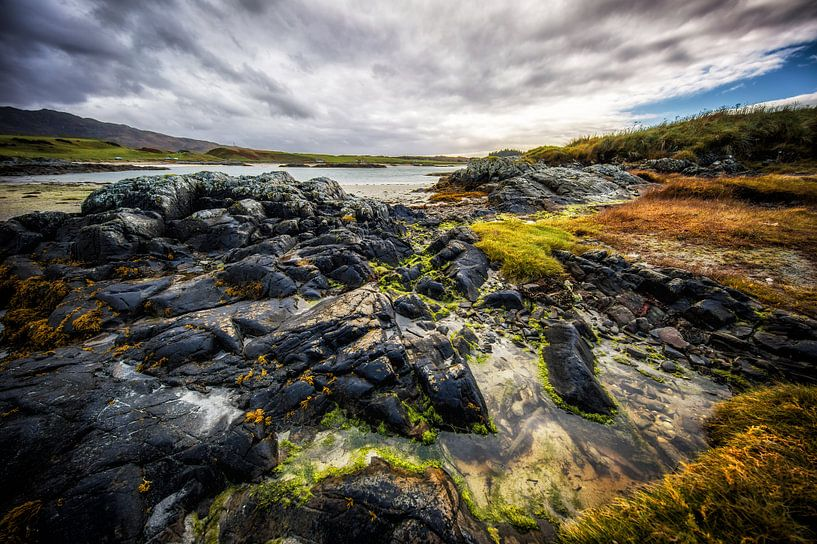 The rocks of nature in Scotland van Steven Dijkshoorn
