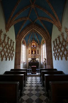 Italiaans Kerkje binnenkant van Paul Franke