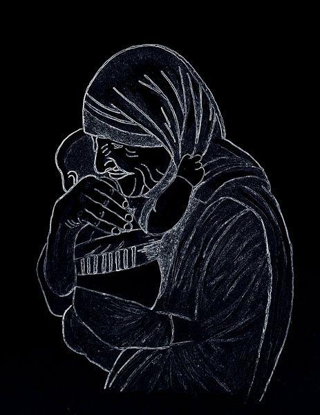 Mutter Teresa von Jose Lok