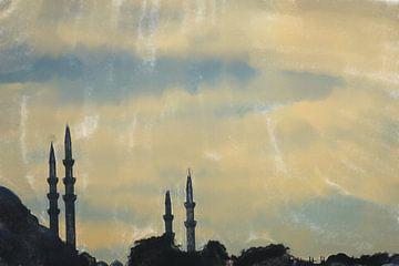 Quatre minarets sur Frank Heinz