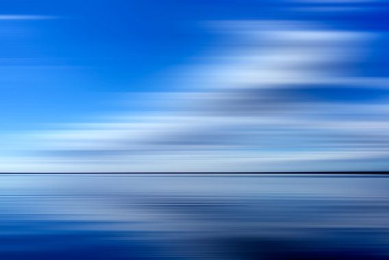Wolken und Wasser von Sander van Ketel