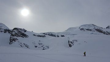 Wintersport van Keline van Dijk
