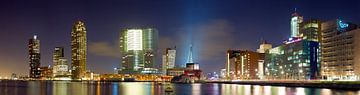Panorama Wilhelminapier Rotterdam von
