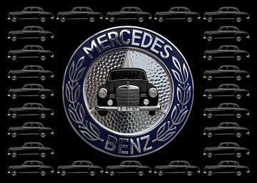 Mercedes-Benz 190 Db (W 121) van aRi F. Huber