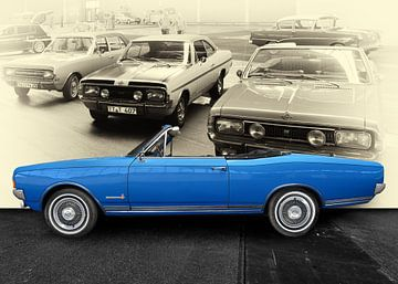 Opel Commodore A Cabriolet (originele kleur) van aRi F. Huber
