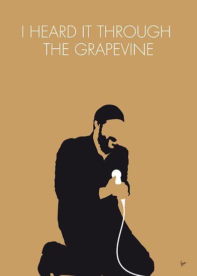No060 MY MARVIN GAYE Minimal Music poster