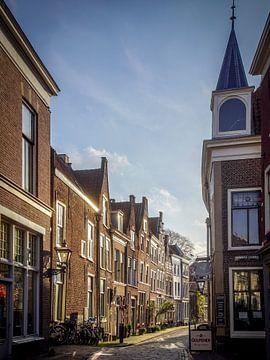 Leiden op een mooie morgen van Dirk van Egmond
