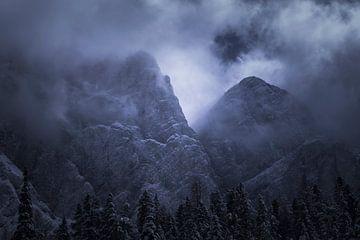 Dolomieten in het donker von Vincent Fennis