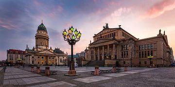 Gennarmenmarkt Berlijn van Frank Herrmann