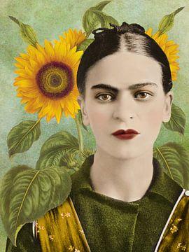 Frida – The Sunflower Edition van Marja van den Hurk