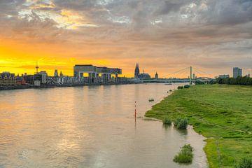 La ligne d'horizon de Cologne