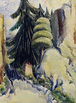 Baumlandschaft, Paul Kleinschmidt,  1937 von Atelier Liesjes