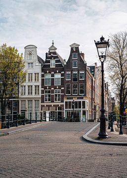 Amsterdam Keizersgracht met Leidsegracht van Lorena Cirstea