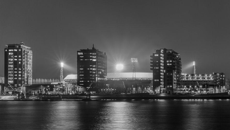 "Feyenoord Stadion ""De Kuip"" in Rotterdam van MS Fotografie"