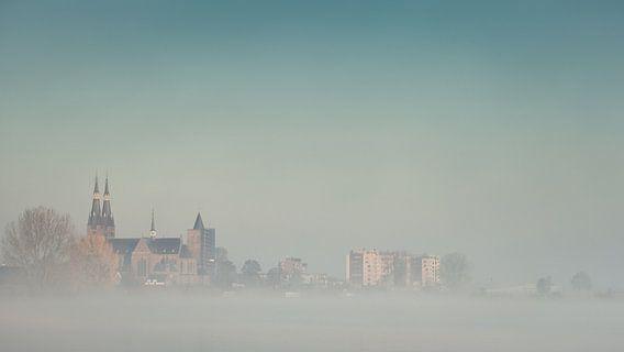 Cuijk in de mist