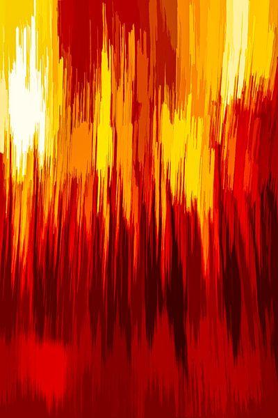 Bosbrand von Dick Jeukens
