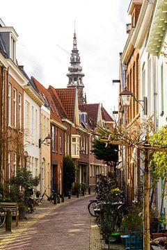Lange Raamstraat te Haarlem van Rutger Kuus