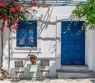 Grieks tafereel van