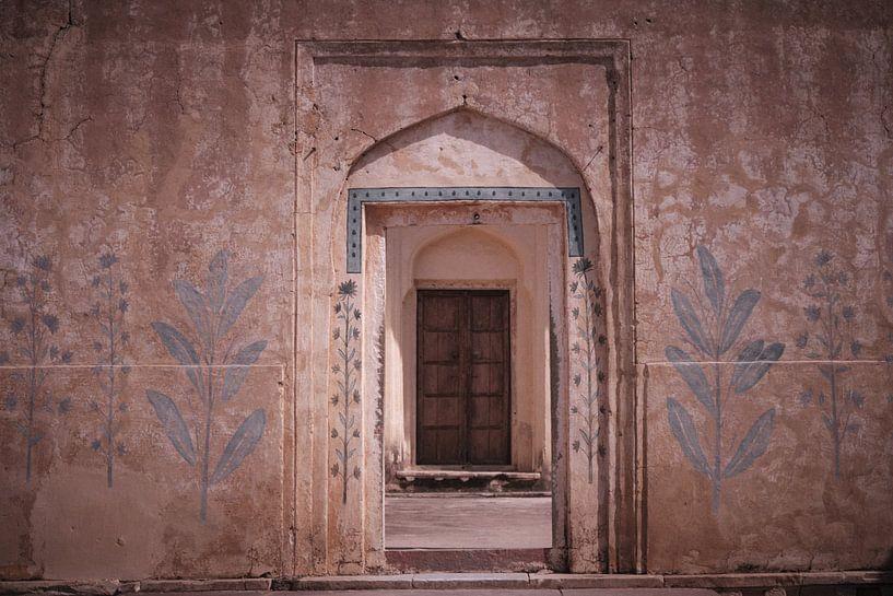 amber fort Jaipur van Karel Ham