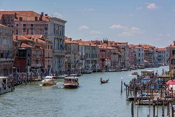 Canal Grande, Venetië van Stephan Neven