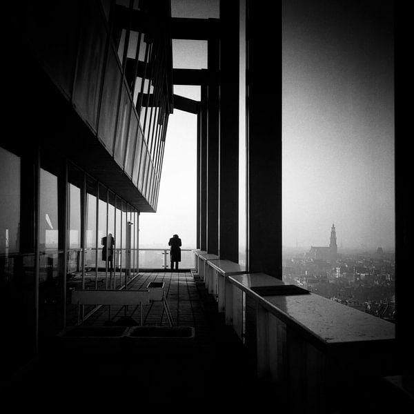 Amsterdam hoogbouw 1963 sur Rob van der Teen