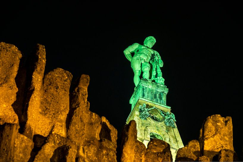Hercules bij nacht van Stephan Zaun