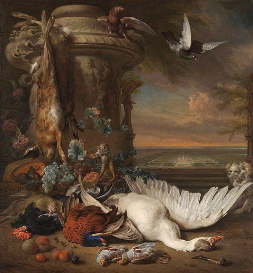 Jan Weenix, Stilleven met dood wild
