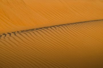 Golvende zandduinen van Karin Mooren