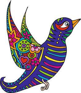 Tattoo Bird van Esther  van den Dool