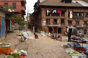 'Markt', Kathmandu- Nepal von Martine Joanne