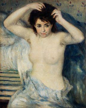 Renoir, Vor dem Bad (1875) von Atelier Liesjes