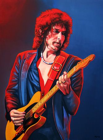 Bob Dylan schilderij