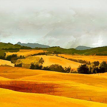 Landscape van Andreas Wemmje