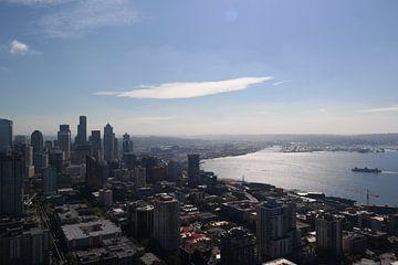 Space Needle Seattle van Desirée van Duin