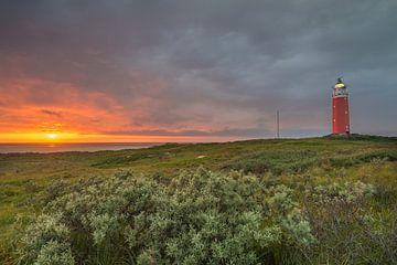 Zonsondergang op texel van Eelke Brandsma