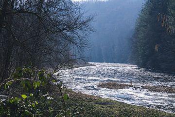 Bevroren rivier van Nynke Nicolai