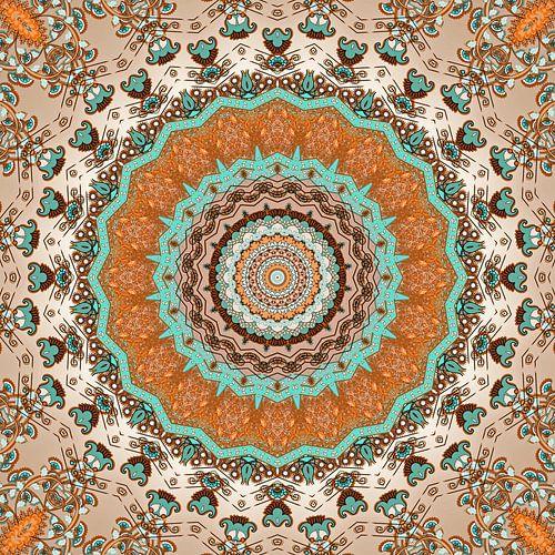 Mandala Herfst van Marion Tenbergen