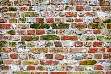 Oude muur in vestingstad van bart hartman