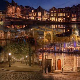 Avond in Leiden van Patrick Herzberg