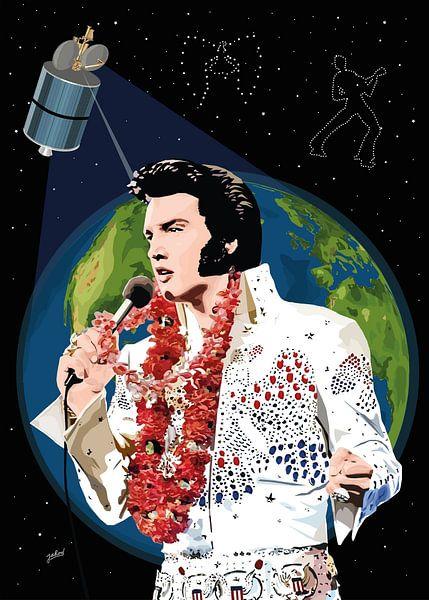 Elvis Presley: Aloha aus Hawaii von Jarod Art