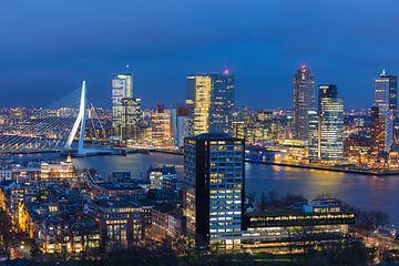 Skyline Rotterdam von Pieter Geevers
