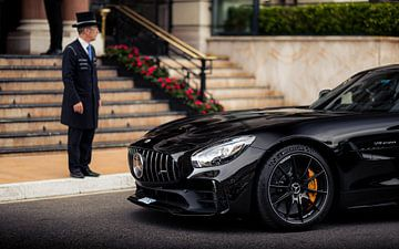 Mercedes AMG GTR voor Hôtel de Paris van Ricardo van de Bor