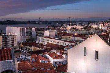Miradouro de Santa Catarina, Lissabon von Jens Korte