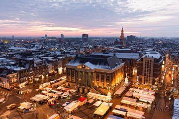 Winters Groningen von Frenk Volt