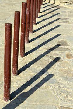 Barrière avec ombre portée sur Alphapics